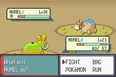 Pokemon Emerald - Battle  - LOOK! Shinnnneeeeyyy - User Screenshot